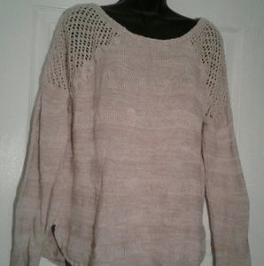 Light weight cotton sweater